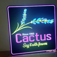 Custom 3D acrylic signage led light box