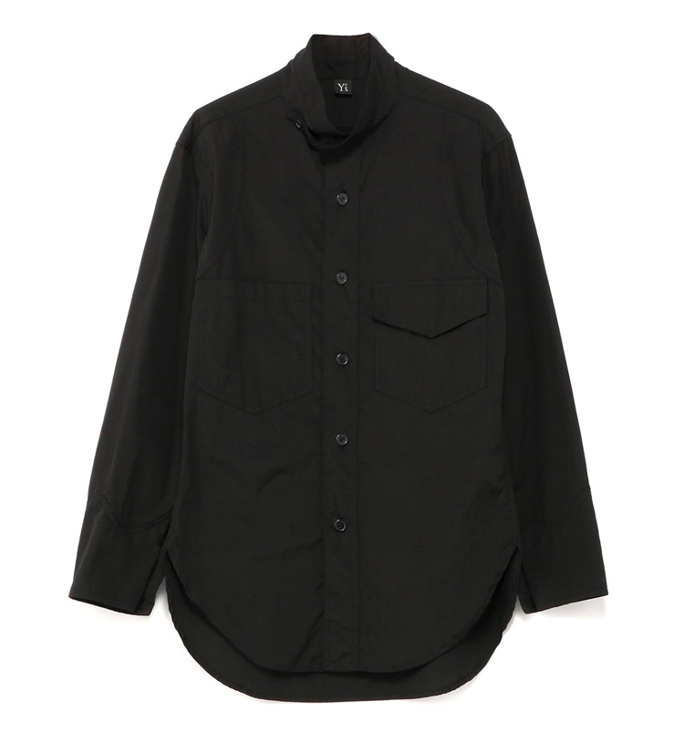 Cotton military uniform long-sleeved Japanese shirt for men and women 1