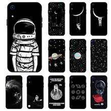 Honor 8A Cases Fashion Black Silicon Case For Huawei Anti-knock Phone Cover Y6 2019 Pro