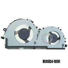 Кулер для охлаждения процессора ноутбука NS85B24 DC05V 1.00A -18K01 8PIN DC28000E1D0 для LENOVO Gaming IdeaPad L340-17IRH