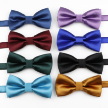 Bowtie Butterfly Business Wedding-Party Solid-Color Fashion Kids Children New Bowknot