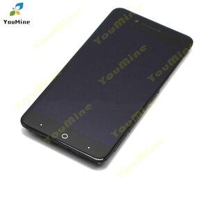 Image 4 - Per ZTE Lama A610 Display LCD Dello Schermo di Tocco di HD Digitizer Assembly lcd con cornice Versione 318 / A241 / YASSY per ZTE A610 lcd