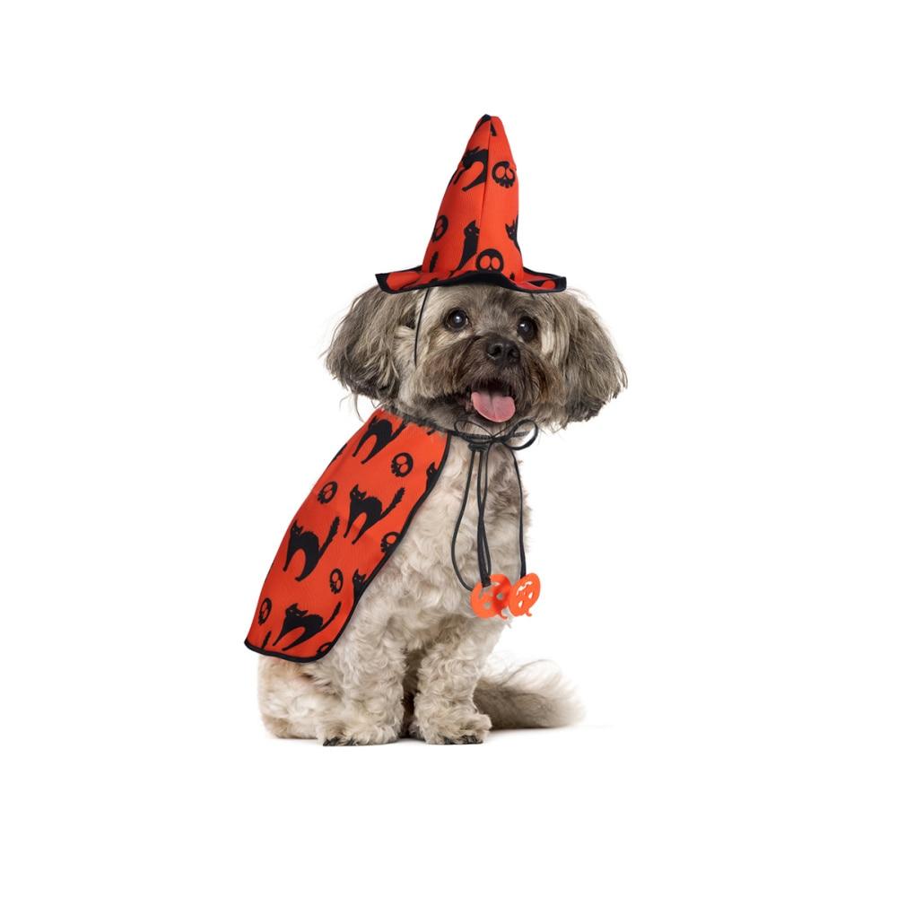 POPETPOP Ropa de Perro con Estilo de Halloween Ropa de Fiesta de Cosplay de Mascota para Cachorro Disfraz de Perrito de Dise/ño de Perrito Caliente Talla L