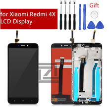 for Xiaomi Redmi 4X LCD Display Touch Screen Panel with Frame Assembly IPS LCD Digitizer for Redmi 4X Repair Parts