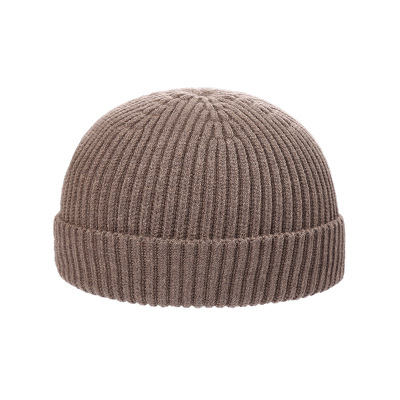Зимняя вязанная теплая шапка для хип хопа унисекс