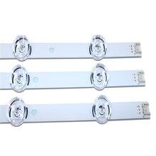 """LED arka ışık şeridi 6 lamba LG 32 için """"TV 32MB25VQ 6916l 1974A 6916l 1981A lv320DUE 32LF580V 32LB5610 innotek drt 3.0 32 32LB582V"""