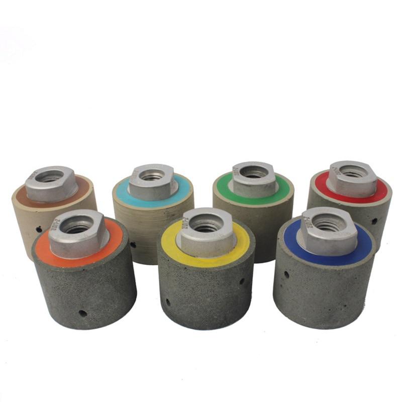 2 Inch Diamond Resin Drum Polishing Wheel Diamond Grinding Wheel For Stone Edge Polishing
