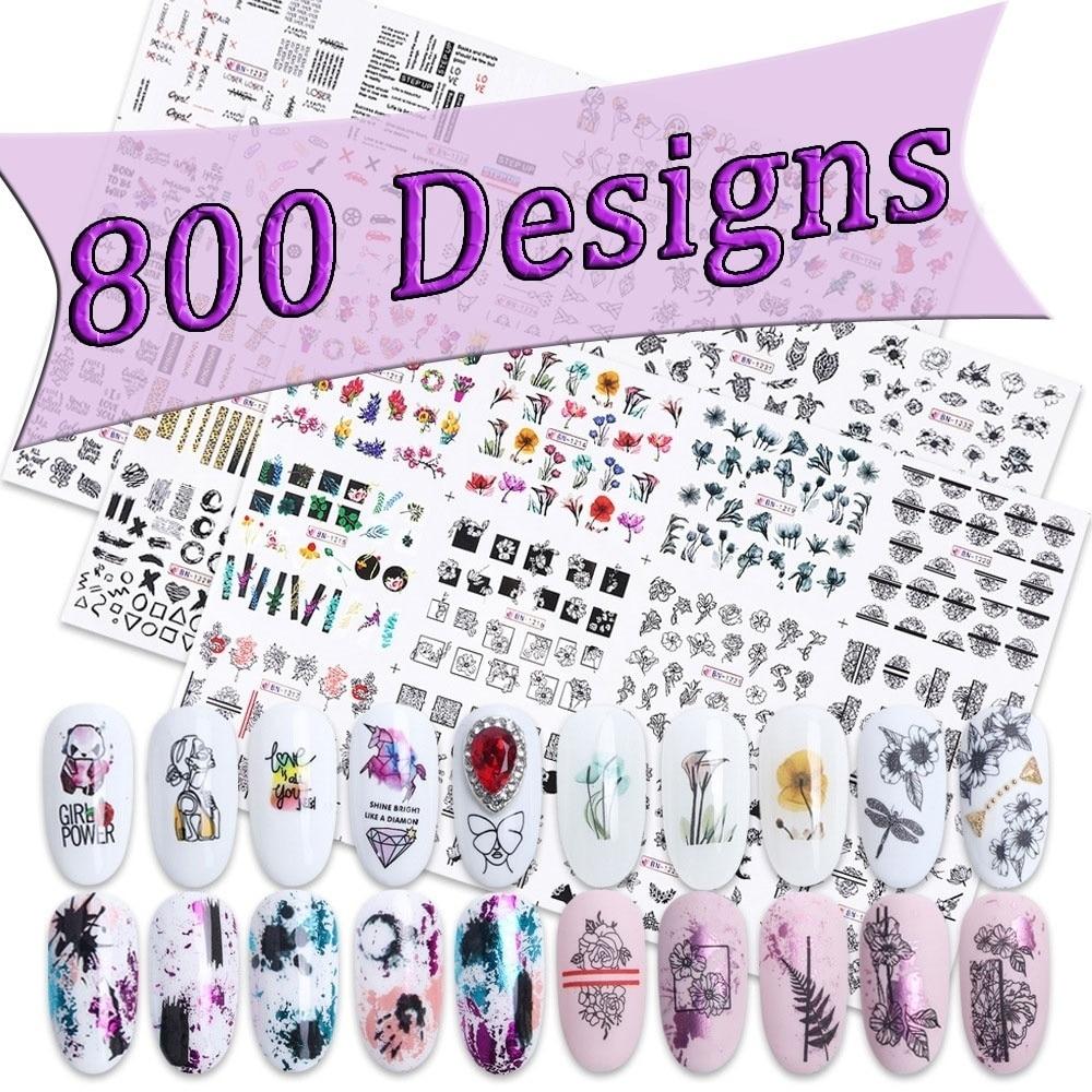 800 Designs  Nail Sticker