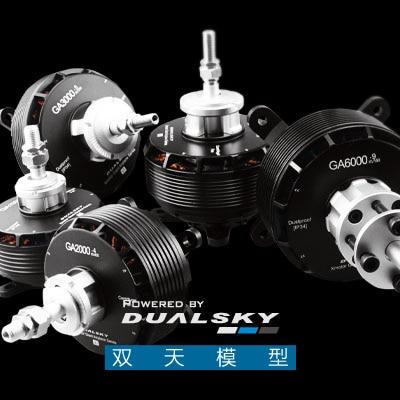 "Image 4 - DUALSKY Brushless מנוע GA4000 V2 גבוהה כוח קבוע כנף דגם מל""ט מחליף 35 40cc בנזין מנועחלקים ואביזרים   -"