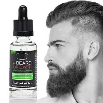 Men's beard growth solution gentle maintenance hair oil growth essential beard solution growth beard growth H0W0 фото