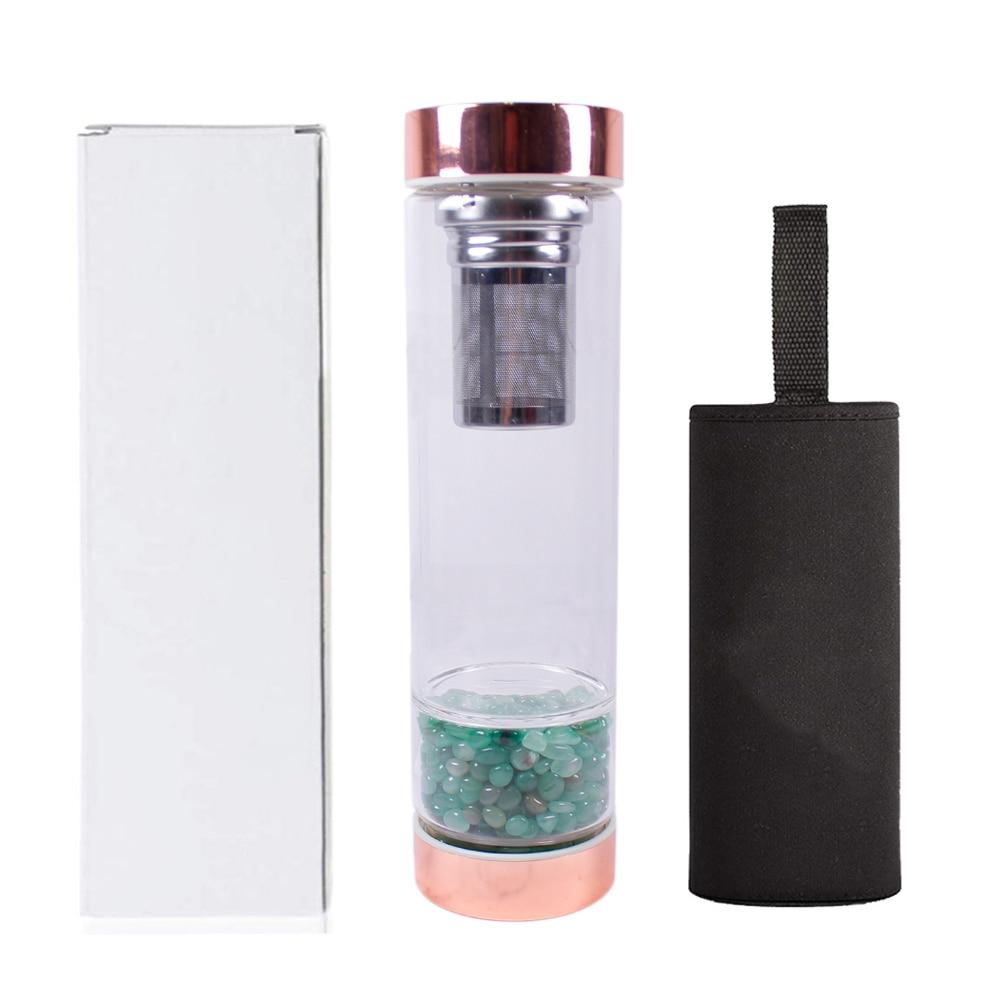 H4e95df1101de4897a48b2daa89565e8aa - Natural  Crystal Elixir Bottles therapy stone with filter