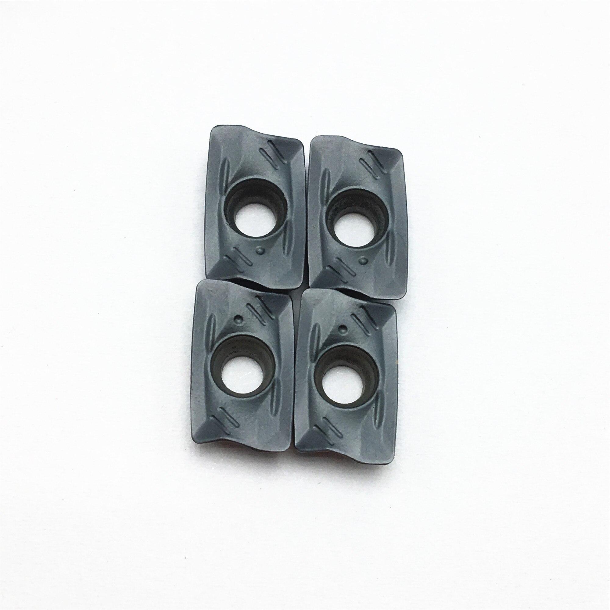100PCS Freies Verschiffen R390 11T308M PM 1130 Hartmetall Insert Fräsen Maschine Gesicht Fräsen Werkzeug R39011T308M PM1130 Drehmaschine Werkzeug Klinge - 4