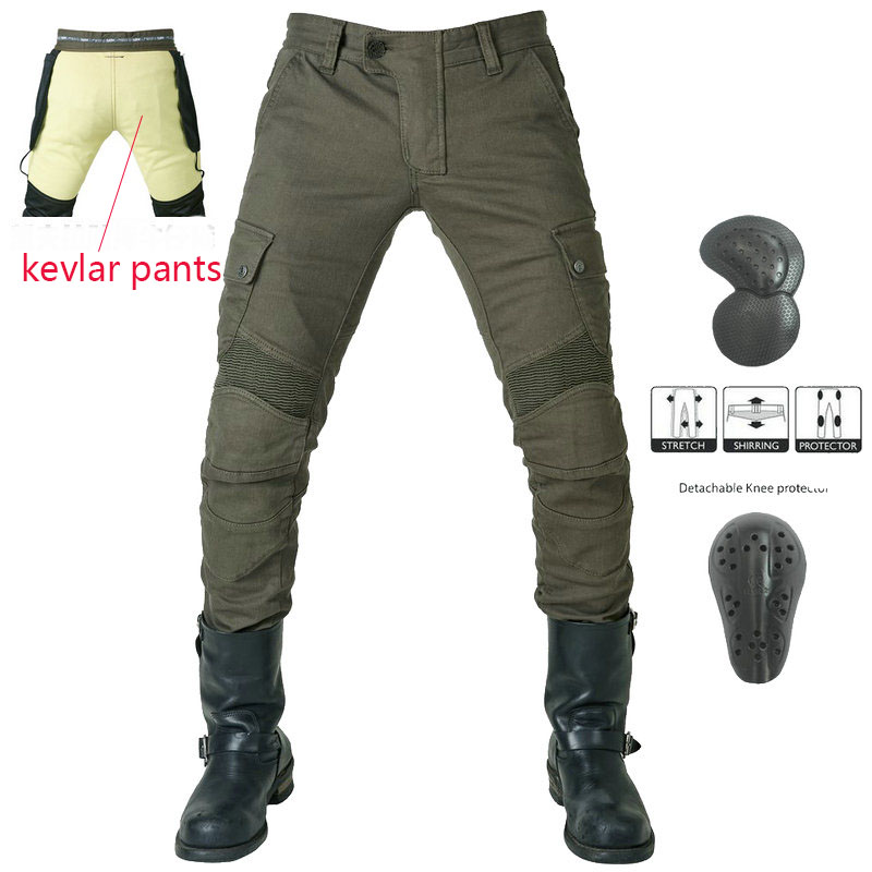 LOONG BIKER Motorcycle Riding Jeans Men And Women Models Anti-fall Motorcycle Pants Kevlar Wear-resistant Cycling Pants Trousers