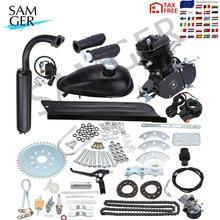 Samgermoteur pocket bike 2 temps 80cc 50cc vélo moteur à essence Kit 2 temps moteur de moto pour bricolage vélo électrique saleté poche vélo complet Kit moteur