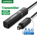 UGREEN Bluetooth 5,0 Sender TV Kopfhörer PC APTX LL Digitale Toslink Optische SPDIF Adapter Audio Musik Drahtlose Sender