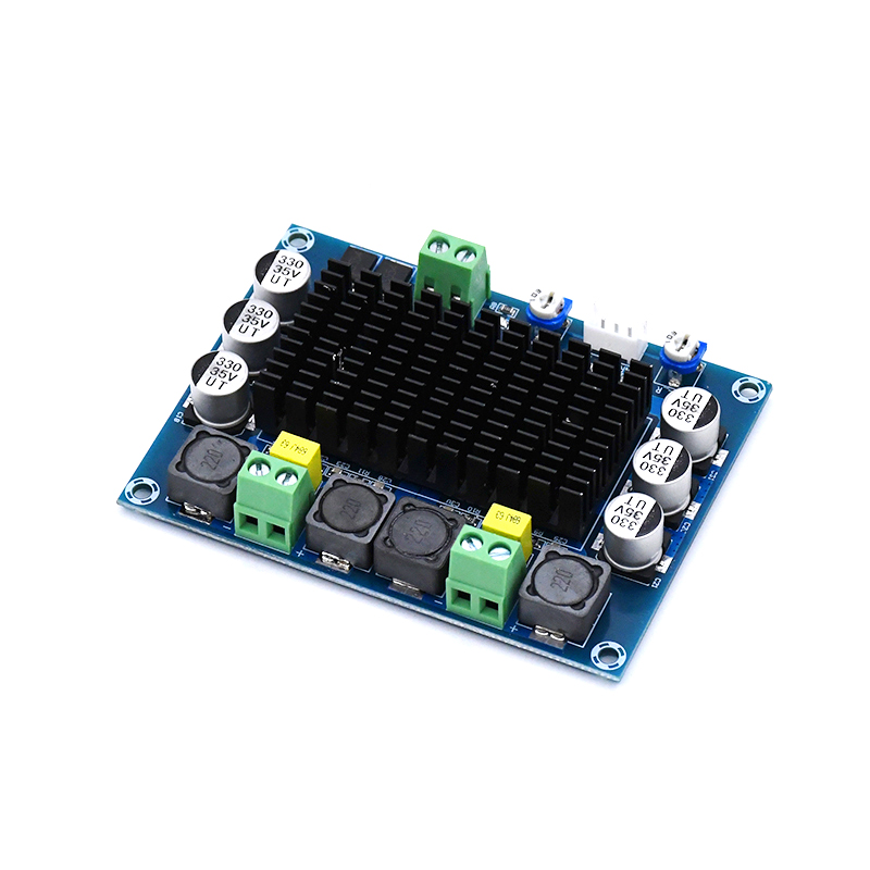KYYSLB TDA7498 100W*2 Chassis Built-in Digital Amplifier Board DC12~32V High-power High-definition Amplifier Board Two-channel