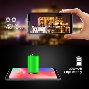"Image 3 - Original version HOMTOM C1 16G ROM 5.5""Mobile Phone 13MP Camera Fingerprint 18:9 Display Android 8.1 MT6580A Unlock Smartphone"