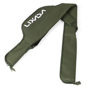 Lixada 55 Inch Fishing Rod Bag Portable Folding Fishing Pole Tackle Protective Cover Case Storage Bag Carp Fishing Bag