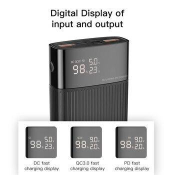 KUULAA Power Bank 20000mAh USB Type C PD Fast Charging + Quick Charge 3.0 PowerBank 20000 mAh External Battery For Xiaomi iPhone 1