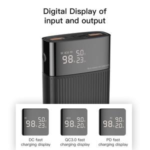 "Image 2 - KUULAA כוח בנק 20000 mAh QC פ""ד 3.0 PoverBank מהיר טעינת PowerBank 20000 mAh USB חיצוני סוללה מטען עבור Xiaomi mi 10 9"
