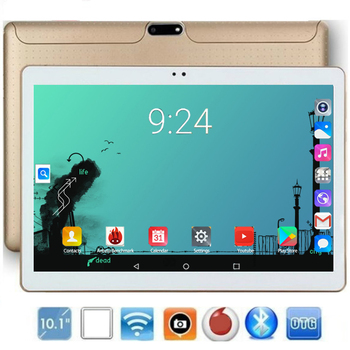 2020 New Design 10.1 inch android 8.0 Tablet Pc 6GB And 128GB Dual SIM Card 1280*800 HD Large Screen Dual Camera 8 Core Tablets