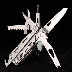 Image 2 - Splitman Alicates multiherramienta para cuchillos plegables, herramienta EDC para pesca, Camping, exteriores, cuchillo de acero inoxidable, destornillador