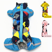 New Puppy Dog Clothing For Pets Luxury Zipper Jackets Small Big Animal Pet Winter Warm Down Yorkshire Dachshund Cat Products