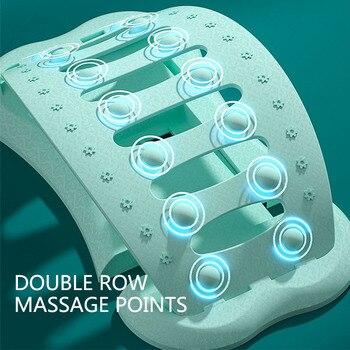 Waist Relax Mate Back Stretcher Waist Neck Massager Magic Stretcher Yoga Fitness Equipment Lumbar Support Spine Pain Relief 2