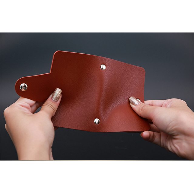 ZOVYVOL 24 Bits Credit Card Holder Women Men ID Wallet Solid Colorful Button Small Purse Soft Leather Bussiness Mens Money Bag 3