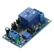 12V DC Delay Delay Relay Turn on / Delay Turn off Switch Module with Timer Dropship