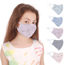 1pc Children Adjustable Face-mask Face Cover Cotton Windproof And Dustproof Face Cover Cute Pattern Kids Face-mask mascarillas(China)