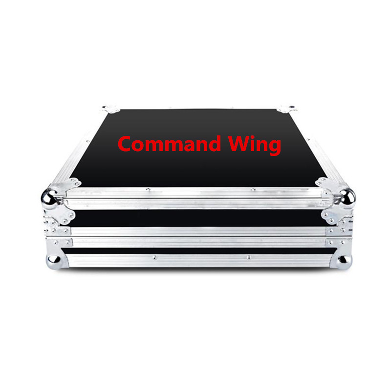 Flight Case Lighting Console MA on PC Fader Wing DMX Lighting Stage Fixture Controller/MA Command Wing flightcase|Stage Lighting Effect|Lights & Lighting - title=
