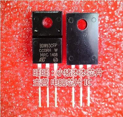 شحن مجاني 50 قطعة BDW93CFP BDW93 TO 220F