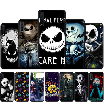 The Nightmare Before Christmas Jack Skellington Silicone Phone Case For Huawei Nova Lite 2 Lite 2i 3 3i 4 4E 5i 5T 7 7SE image