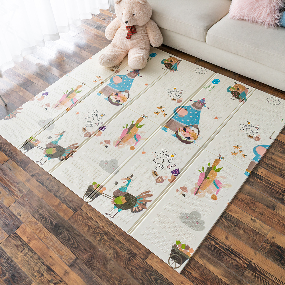 Infantrain Baby Crawling Mat Kids Rug Puzzle Playmat XPE Foldable Children Developing Mat Kids Carpet Floor Pad To Baby Nursery