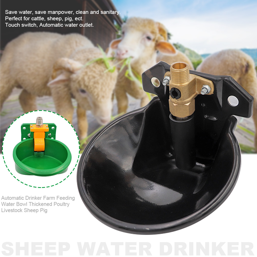 Farm Feeding Automatic Drinker Sow Water Bowl Thickened Useful Animal Sheep Pig