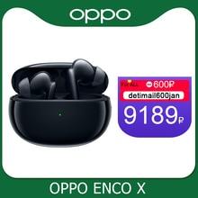 Oppo Enco X Ture écouteur sans fil TWS 3 micro suppression du bruit écouteur Bluetooth 5.2 écouteurs pour Reno 5 Pro 4 SE trouver X2 Pro