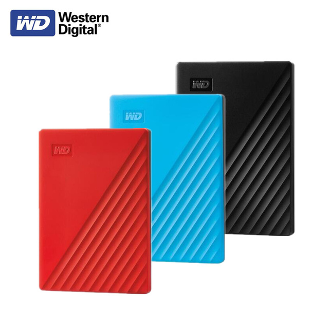 Original Western Digital WD mon passeport 1 to 2 to 4 to disque dur externe USB 3.0 protection par mot de passe disque dur Portable Mobile