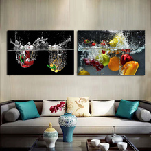 Rich Fruit And Juice Canvas Poster Nordic Decorative Picture Painting Modern Wall Art