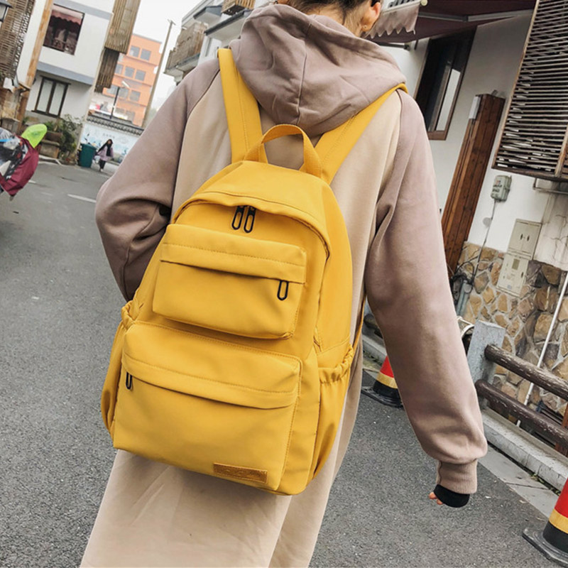 New Waterproof Nylon Backpack For Women Multi Pocket Travel Backpacks Female School Bag 2019 Teenage Girls Book Mochilas