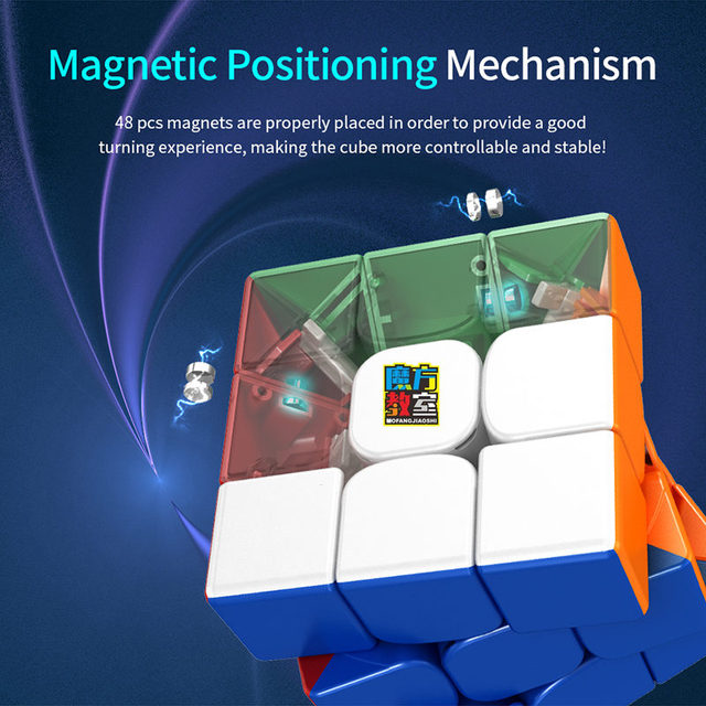 2020 Moyu MFRS3 M Magnetic 3x3x3 Magic Cube RS3 M cubing classroom RS3M 2020 Magnets Puzzle Speed Cube Toys for Children