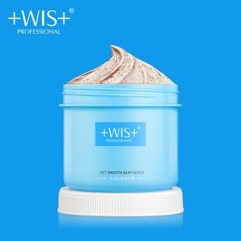 WIS Smooth Silky Scrub Nicotinamide Skin Care Whitening Repair After Sun Deep Cleansing Brighten Peeling body Scrub Cream250g скрабы и пилинги helen gold smooth body scrub bounty объем 150 г