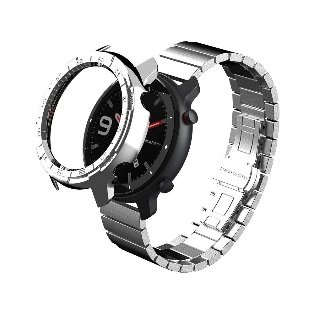 Чехол для смарт-часов SIKAI для Xiaomi Amazfir GTR 47 мм, зарядное устройство для часов Huami Amazfit GTR 42 m, корпус для часов