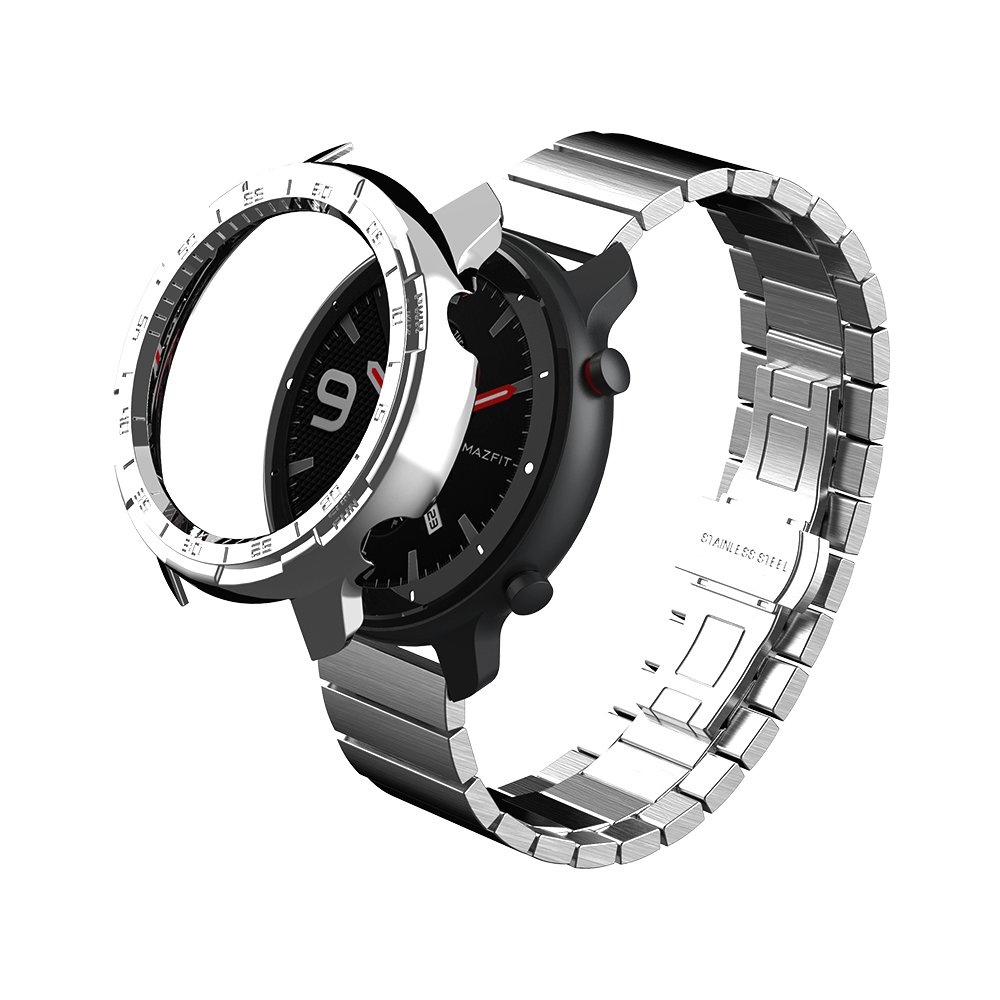 SIKAI Smart <font><b>Watch</b></font> Strap <font><b>Case</b></font> For Xiaomi Amazfir GTR 47mm <font><b>Watch</b></font> Charger <font><b>Watch</b></font> Band For Huami Amazfit GTR 42m <font><b>Watch</b></font> Shell image