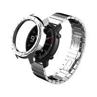 Sikai pulseira de relógio inteligente caso para xiaomi amazfir gtr 47mm relógio carregador pulseira para huami amazfit gtr 42m relógio escudo|Caixas de relógios| |  -