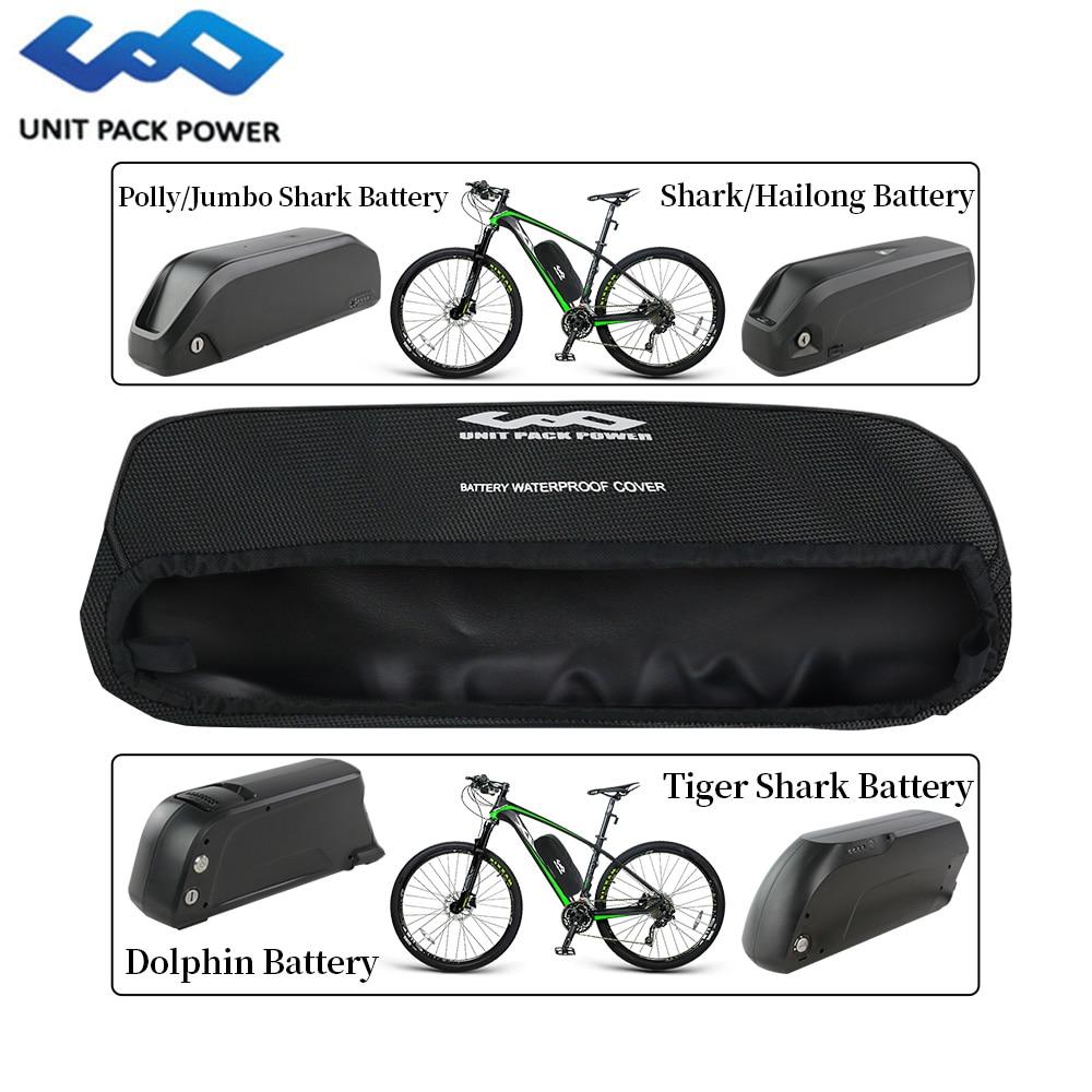 Ebike Battery Cover Waterproof Dustproof Wear Resistant Bike Frame Bag Battery Bag for Electric Bike