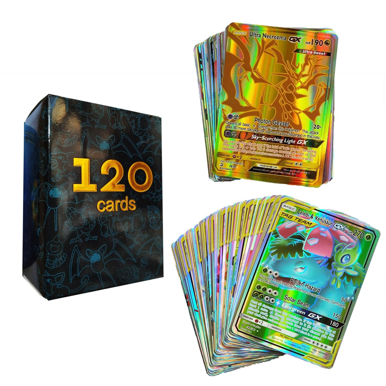 Лидер продаж, детская боевая игра, карточка GX EX, коллекция, продажа покемонов, карточки для смеха, подарок для детей, английская версия, игруш...