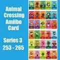 Серия 3 #253-265 карточка для скрещивания животных Amiibo карточка для работы с переключателем NS 3DS игра для скрещивания животных Прямая поставка к...