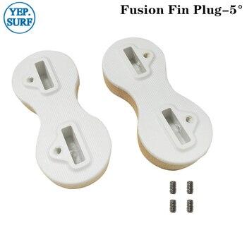 цена на SUP Board Surfboard FCS Fusion Fin Box White 5 Degree Surfing Fin Plugs 2pc/set