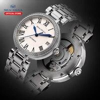 Seagull women watch Ladies mechanical watch 32mm automatic watch 50m watch luxury watch women fashion watch fashion 816.417L